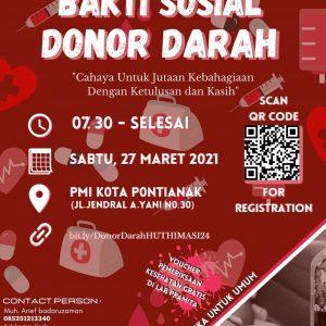 Donor Darah HIMASI 24